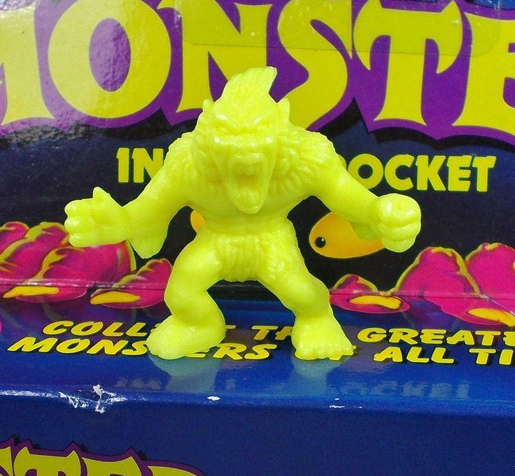 Monster in my Pocket - Series 1 - 24 Windigo - Neon Yellow NY MEG