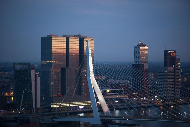 One day itinerary to discover Rotterdam, Netherlands.