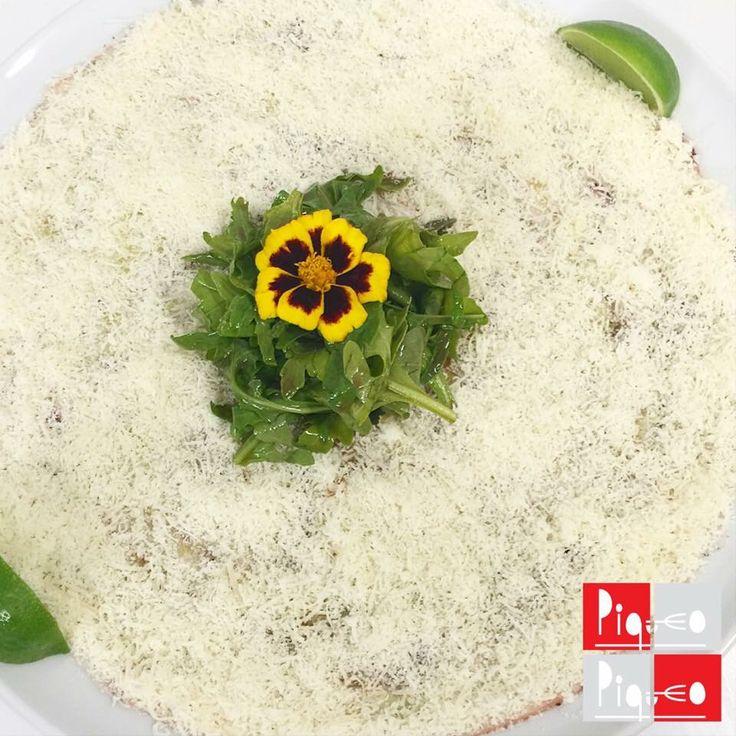 Carpaccio de pulpo   https://www.facebook.com/restaurantepiqueo