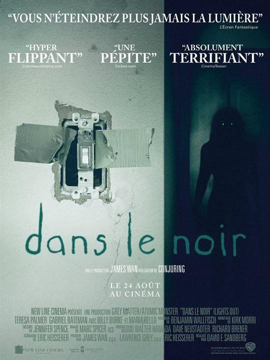 Dans le noir est un film d'horreur assez efficace doté d'un scénario faisant preuve d'originalité.
