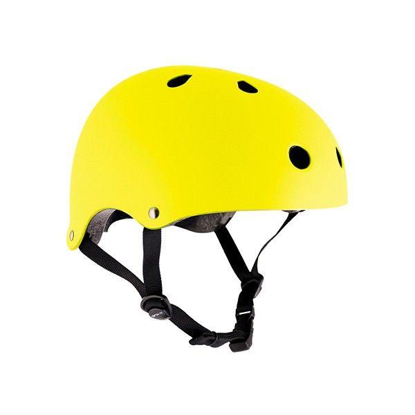 Żółty kask / Fluo yellow helmet