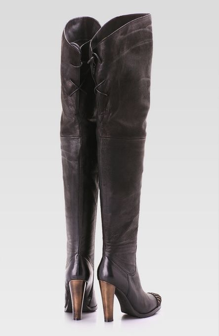 thigh high leather boots for plus size women  0276da9ff