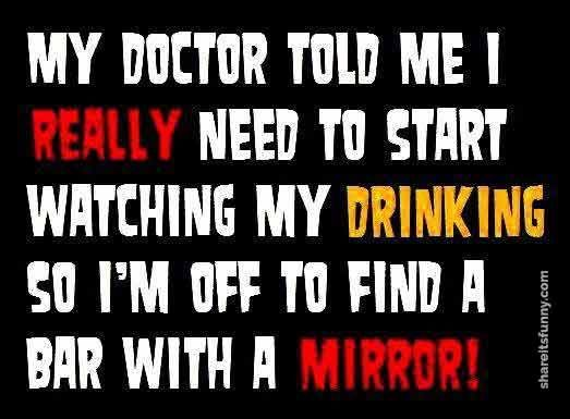 Doctors Drinking Advice - https://shareitsfunny.com/doctors-drinking-advice/ - Funny Jokes on Share Its Funny #doctorsdrinkingadvice