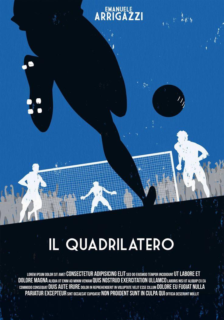 """3° Classificato Contest """"Una Locandina per il Quadrilatero""""  Artwork by Dario Grillotti."""