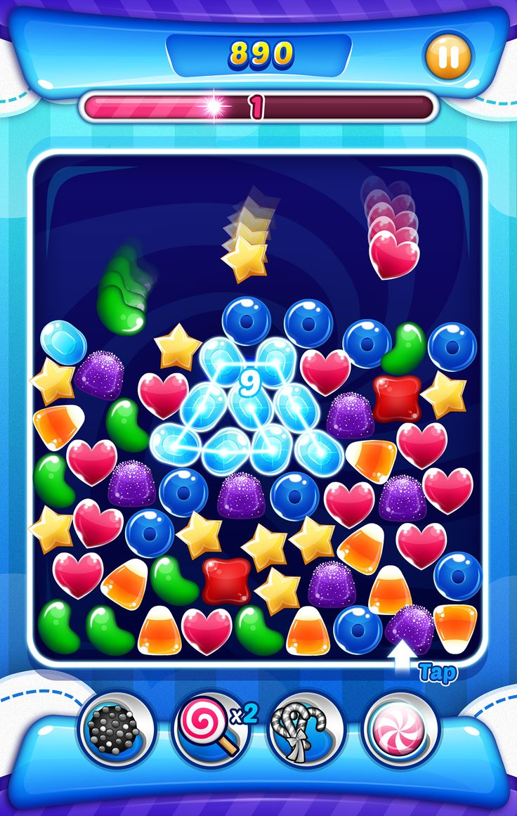 Candy Beat Game on Behance