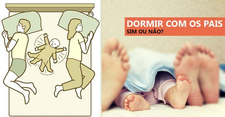 Logo que o bebê chega a casa fica difícil se desgrudar dele, sendo que, alguns pais têm o hábito de deixar o bebê dormir na cama do casal, porém, esse hábi