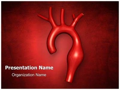 Aortic Aneurysm PowerPoint Presentation Template is one of the best Medical PowerPoint templates by EditableTemplates.com. #EditableTemplates #Rupture #Brachiocephalic #Subclavian  #Renal Artery #X-Ray Image #Human Artery #Heart #Illness #Blood #Carotid #Vein #Aorta #Pump #Aneurysm #Atherosclerosis #Heart Attack #Aortic Aneurysm #Artery #Coronary