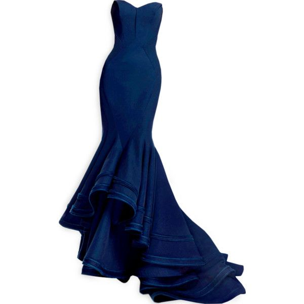 edited by Satinee - Zac Posen Pre-Fall 2013 ❤ liked on Polyvore