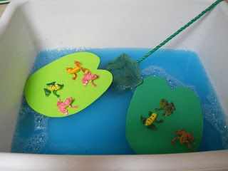 Learning and Teaching With Preschoolers: F is for Frogs