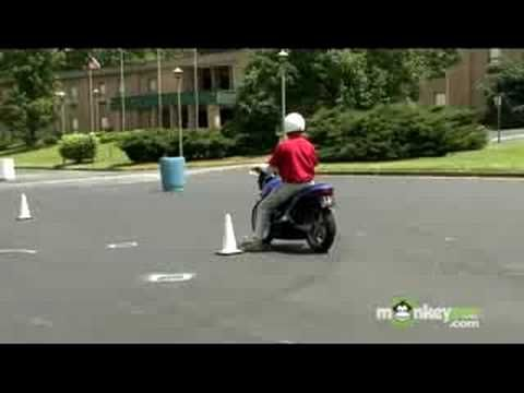 Starting and stopping a motorcycle