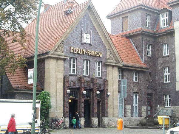 S-Bahn station, Pankow - Berlin