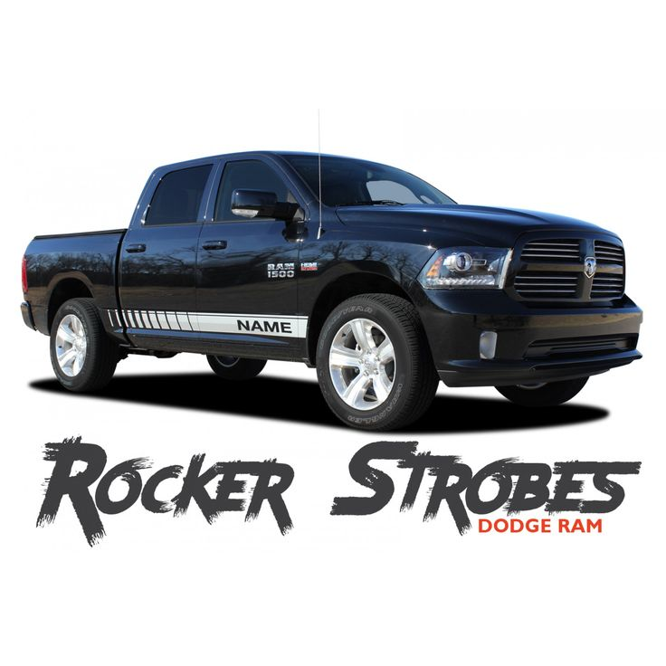 2018 dodge farm truck. wonderful farm dodge ram rocker strobes lower door rocker panel body stripes vinyl  graphics kit 20092017 inside 2018 dodge farm truck