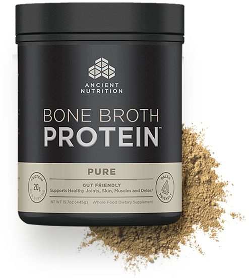 ~I guess if sometime I'm too lazy to make bone broth:  Bone Broth Protein Pure