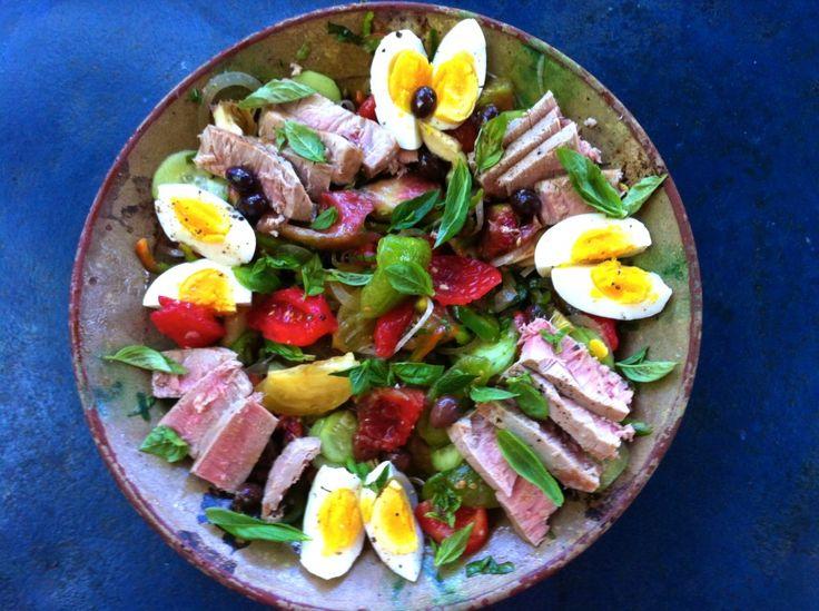 La (vraie) salade niçoise