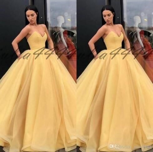 luxury sparkle crystals sweet 16 dress yellow plus size