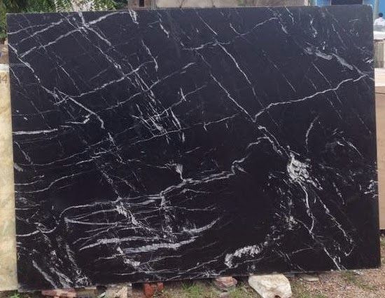 Do you know Haveli Black Marbles gets Zig Zag white lines