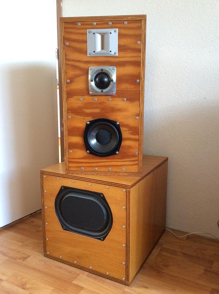 53 best DIY speakers images on Pinterest | Diy speakers ...