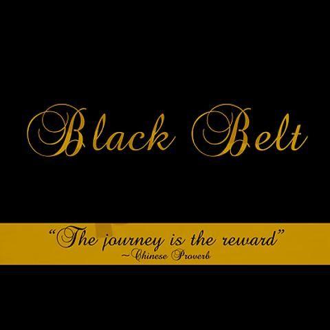 Your Journey to Black Belt: Part Three