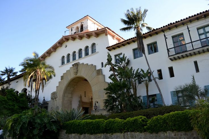 Здание суда Санта-Барбары, Санта-Барбара, Калифорния (Santa Barbara County Courthouse)
