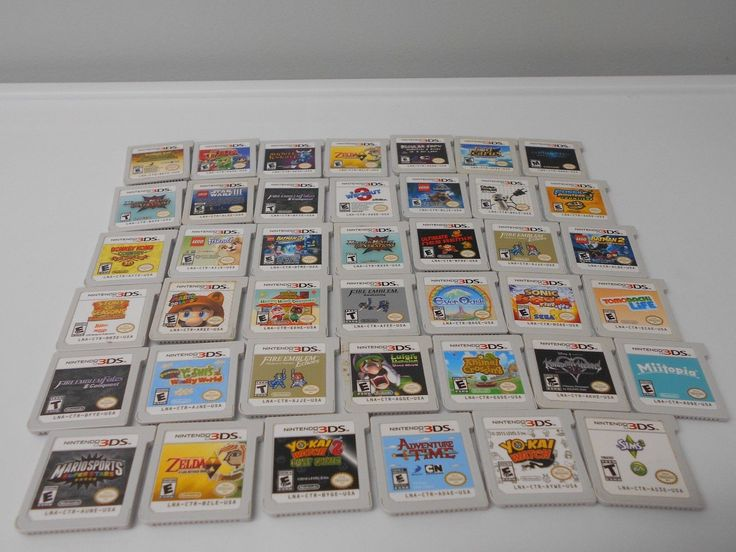 Nintendo 3ds games go select title zelda lego donkey kong ect game