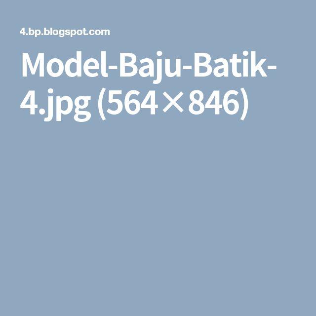Model-Baju-Batik-4.jpg (564×846)