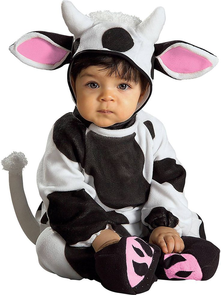 nike air jordan high heels for women Infant Cozy Cow Costume  now that Jentry is crawling  this is perfect
