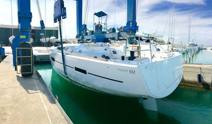 Launch Dufour Yachts 512 Grand Large | Euro Sail Yacht | Marina Punta Faro