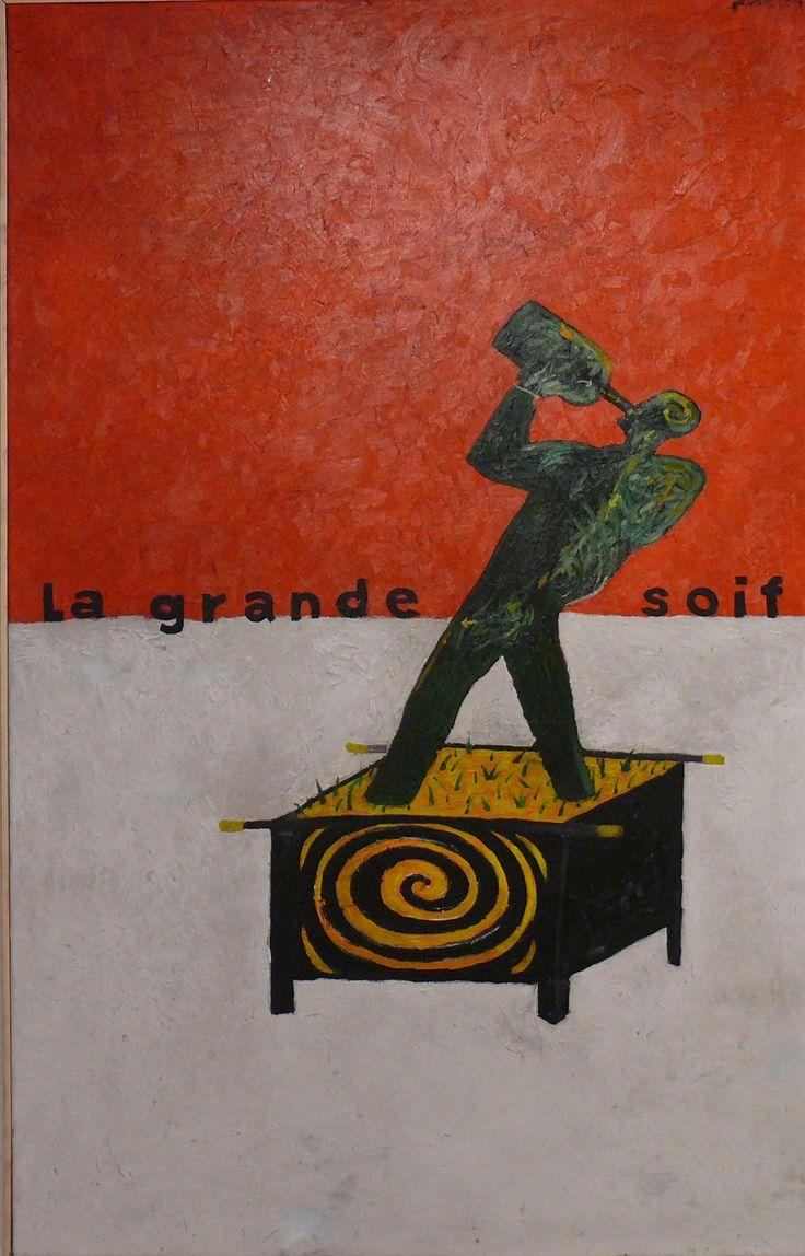 aatoth franyo: Reggeli a szabadban / Lunch on the Grass - 2009 - 132x84cm - olaj, vászon / oil on canvas