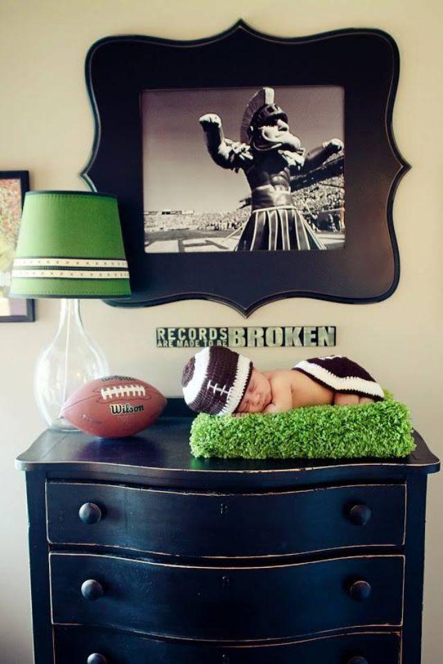 Football baby!