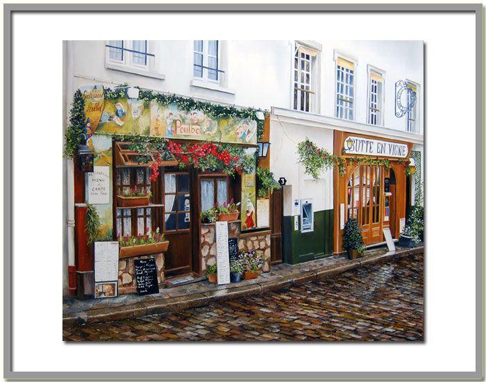 Париж глазами художницы Мари-Клер Houmeau. Обсуждение на LiveInternet - Российский Сервис Онлайн-Дневников