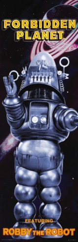 Forbidden Planet - Featuring Robby the Robot Poster
