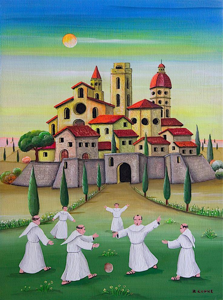 'Zenone' Emilio Giunchi, Italian artist