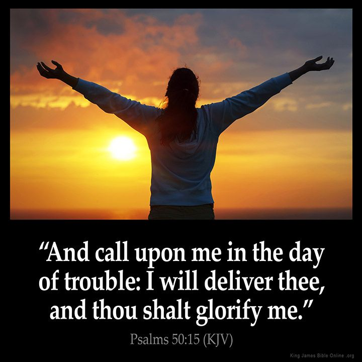 Psalms 50:15  And call upon me in the day of trouble: I will deliver thee and thou shalt glorify me.  Psalms 50:15 (KJV)  from King James Version Bible (KJV Bible) http://ift.tt/1Ohyo5o  Filed under: Bible Verse Pic Tagged: Bible Bible Verse Bible Verse Image Bible Verse Pic Bible Verse Picture Daily Bible Verse Image King James Bible King James Version KJV KJV Bible KJV Bible Verse Pic Picture Psalms 50:15 Verse         #KingJamesVersion #KingJamesBible #KJVBible #KJV #Bible #BibleVerse…