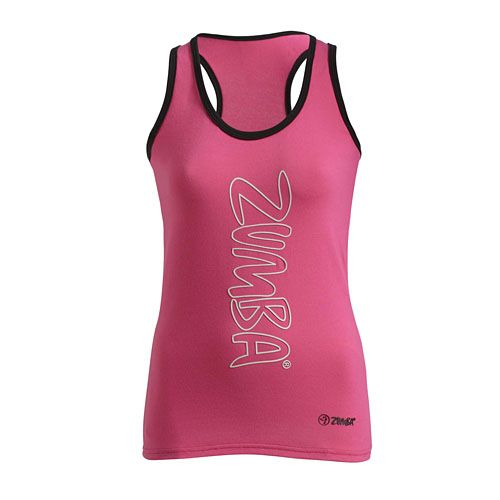 Zumba Shop Canada | Buy GALACTIC RACERBACK - BERRY