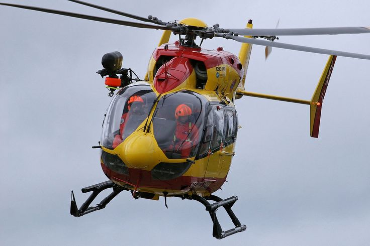French civil security EC145 helicopter, Photo : André Bour