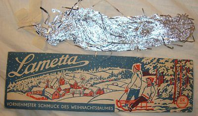 German christmas tree silver #aluminum #tinsel #lametta ornament vintage antique ,  View more on the LINK: http://www.zeppy.io/product/gb/2/331929809360/