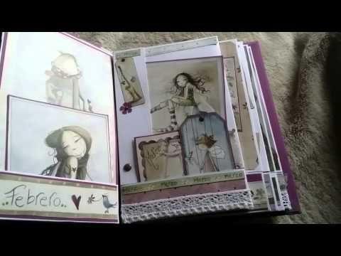 Álbum de Scrapbooking para bebé INSPIRACIÓN - YouTube
