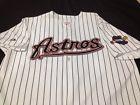 Houston Astros Authentic Majestic Pinstripe Jersey w/ 2005 World Series Patch XL