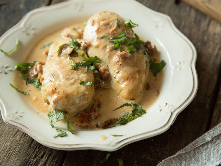 Hühnchen in Tomaten-Parmesan-Sauce