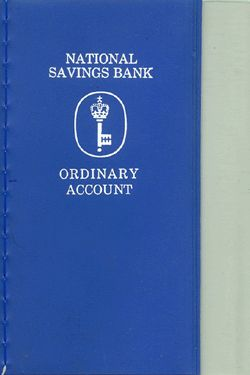 Savings account books