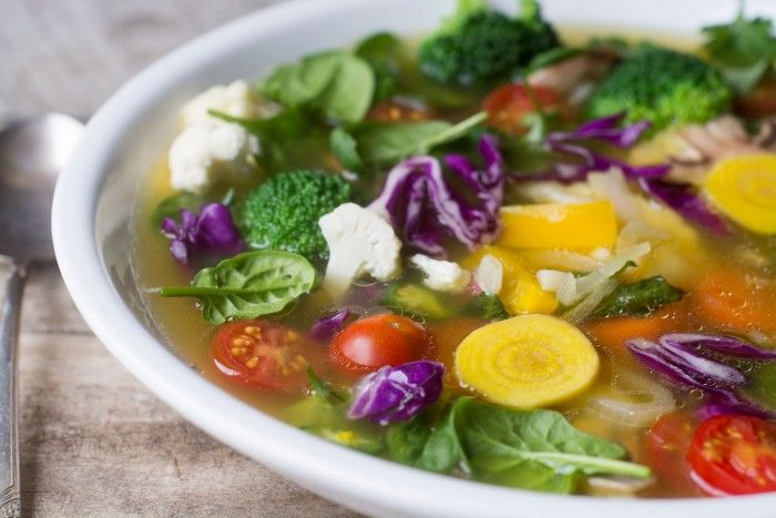 Make a pot of Slimming Detox Soup when you want to shed a few pounds, or just get back on track - it's low fat, low carb, Paleo, Whole 30, and delicious!