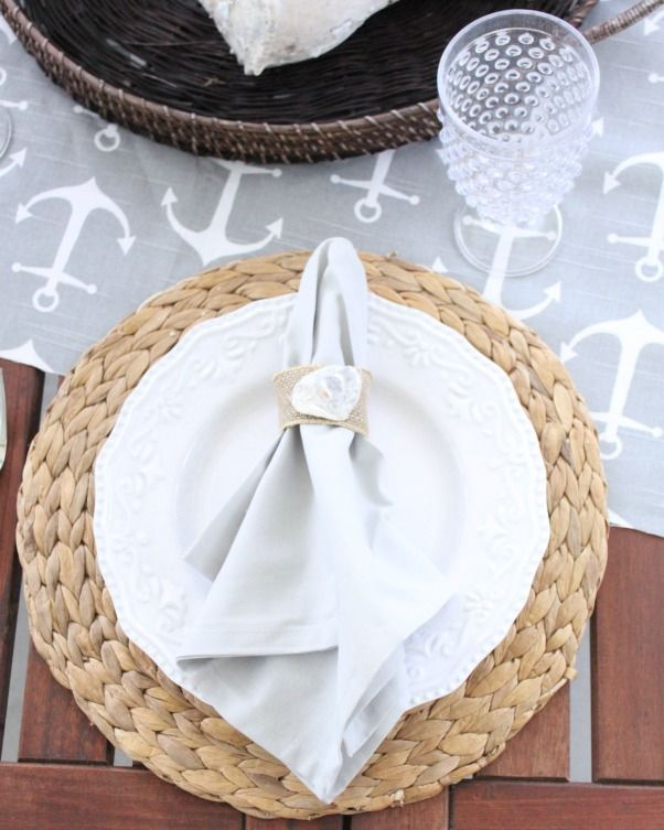 260 best Place Settings & Napkin Decor! images on Pinterest ...