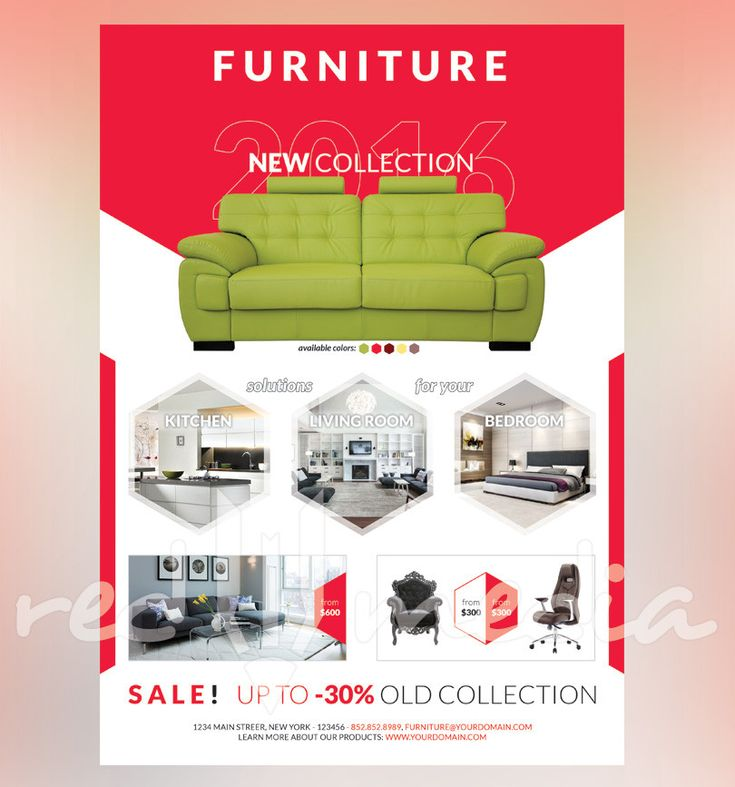 Furniture Advertising Ideas Magnificent Decorating Inspiration