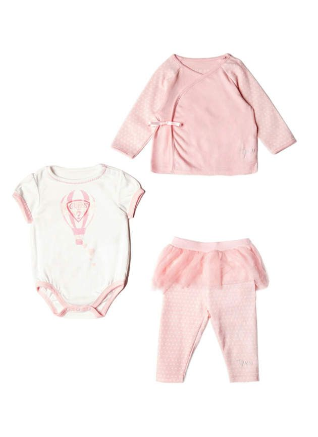 d7f4435db32c Guess Baby Girls Polka-Dot 3-Piece Set (0-12M) #babygirl, #guess, #promotion