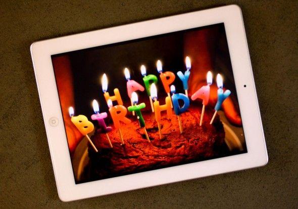 iPad отпраздновал четвертый день рождения