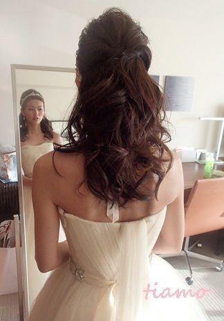 美人花嫁さまの素敵な3スタイル♡後編♡  大人可愛いブライダルヘアメイク『tiamo』の結婚カタログ Ameba (アメーバ)