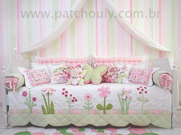 Quilt - Sweet Floral Twin Quilt distinto estampado