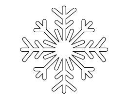 Large Snowflake Pattern