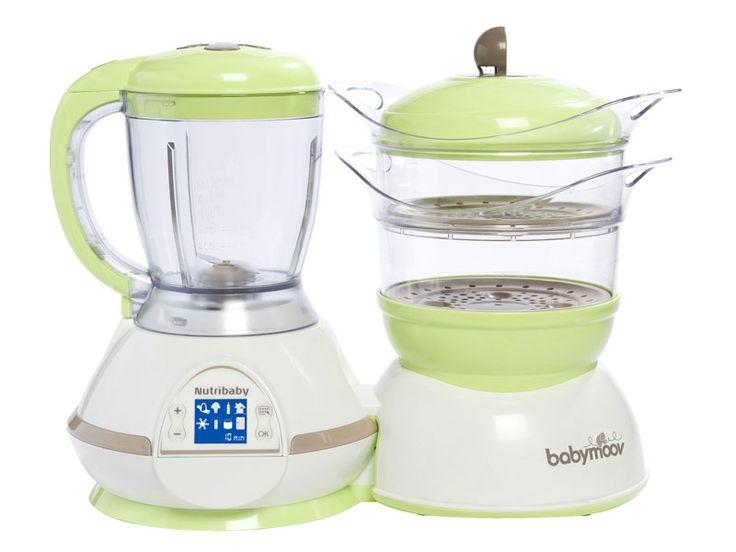 E' l'ora della pappa e il bimbo ha taaaanta fame? Con il robot Babymoov Nutribaby prepari in poco tempo pasti sani e naturali perché cuoce, frulla, scalda, sterilizza e scongela! Lo trovi qui>>>http://ndgz.it/robot-babymoov-nutribaby  #pappa #bebe #mamme #robot #cucina #svezzamento