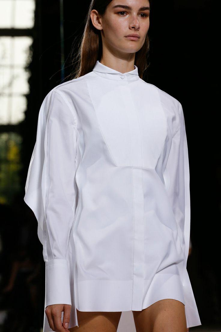 Shirtdress   Balenciaga Spring 2014 RTW #style #fashion